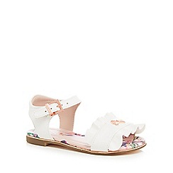 Baker by Ted Baker - 'Girls' white sandals