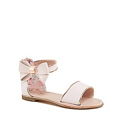 Baker by Ted Baker - Girls' pink 'Wow' sandals