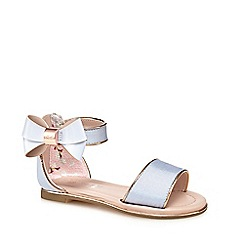 Baker by Ted Baker - Girls' blue 'Wow' sandals