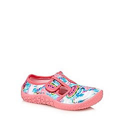 bluezoo - 'Girls' multi-coloured aqua sock shoes