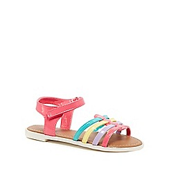 bluezoo - Girls' multi-coloured patent strap sandals