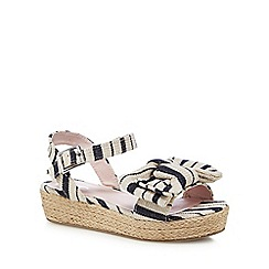 J by Jasper Conran - Girls' navy sandals
