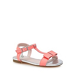 J by Jasper Conran - 'Girls' pink bow sandals