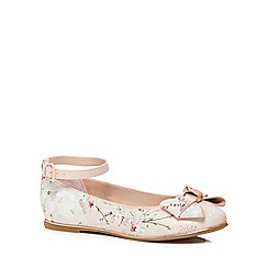 Baker by Ted Baker - Girls' multi-coloured floral print pumps