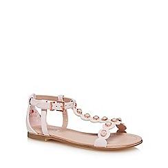 Baker by Ted Baker - 'Girls' pink sandals