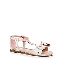 Baker by Ted Baker - Girls' multi-coloured floral print sandals