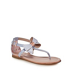 Baker by Ted Baker - 'Girls' light blue satin sandals