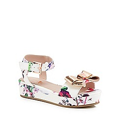 Baker by Ted Baker - 'Girls' multi-coloured sandals