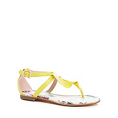Baker by Ted Baker - 'Girls' yellow sandals