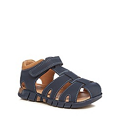 bluezoo - Boys' navy fisherman sandals