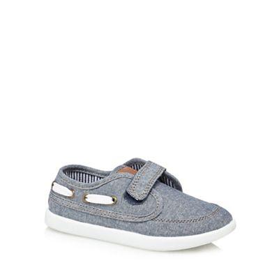 bluezoo - 'Boys' blue boat shoes