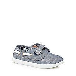 bluezoo - 'Boys' blue boat shoes