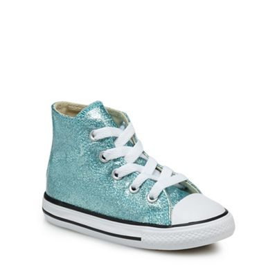 Converse - - - Girls' aqua 'Star Player' trainers f1dcab