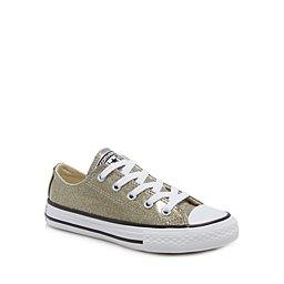 Converse - Girls  gold glitter  Chuck Taylor  lace ... 58ebc72479