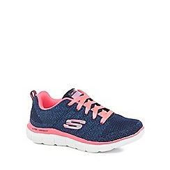 Skechers - Girls' pink 'Appeal' trainers