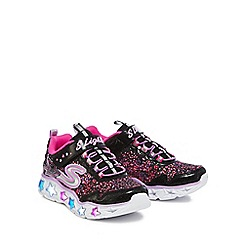 Skechers - Girls' pink 'Galaxy' trainers