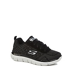 Skechers - Boys' black 'Flex Advantage' trainers