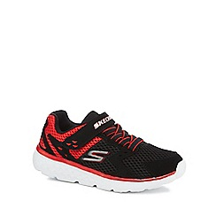 Skechers - Boys' black 'Go Run 400' trainers