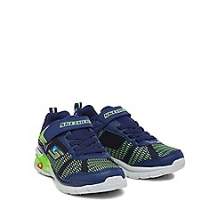 Skechers - Boys' blue 'Reuters' trainers