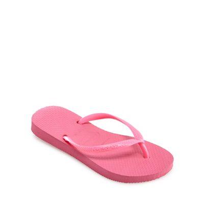 2c755597df7 Havaianas -  Girls  pink flip flops