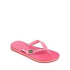 Ipanema - 'Girls' pink flip flops