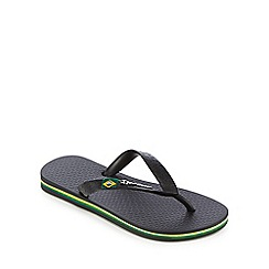 Ipanema - 'Childrens' black flip flops