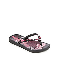 Ipanema - 'Girls' black flip flops