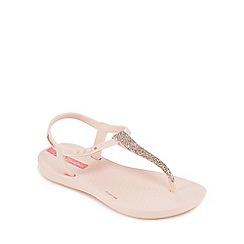 Ipanema - 'Girls' pink glitter sandals