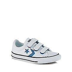 Converse - Kids' white canvas 'Star Player' trainers