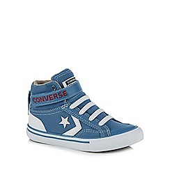 Converse - Boys' blue 'Pro Blaze' hi-top trainers