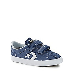 Converse - Girls' blue 'Breakpoint 2V' trainers