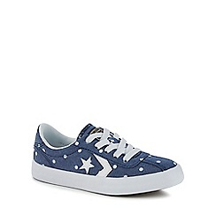 Converse - Girls' blue 'Breakpoint' trainers
