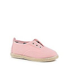 Flossy - Girls' pink 'Goloso' slip-on shoes