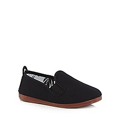 Flossy - Kids' black 'Pamplona' slip-on shoes