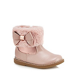 Baker by Ted Baker - 'Girls' pink ankle boots