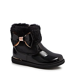 Baker by Ted Baker - 'Girls' patent ankle boots