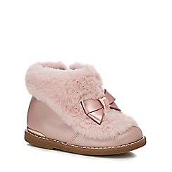 32f18753e Baker by Ted Baker - Girls  pink ankle boots