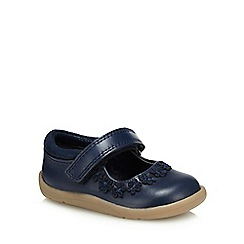 bluezoo - Navy 'First Walker' shoes