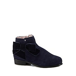 J by Jasper Conran - Kids' navy suede ankle boots