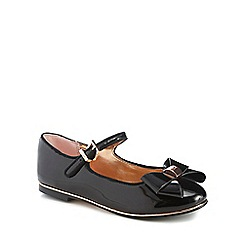 Baker by Ted Baker - 'Girls' black patent ballet pumps