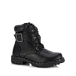 Mantaray - Girls' black ankle boots
