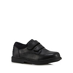 Debenhams - Boys' black scuff resistant school shoes