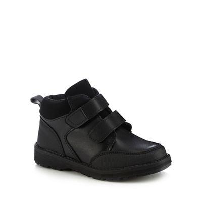 Debenhams 'Boys' - 'Boys' Debenhams black boot school shoes cdb07d