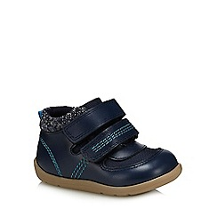 bluezoo - Boys' navy 'First Walker' boots