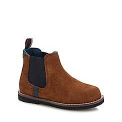Baker by Ted Baker - Kids' brown suede Chelsea boots
