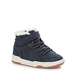 bluezoo - Boys' navy trainer boots