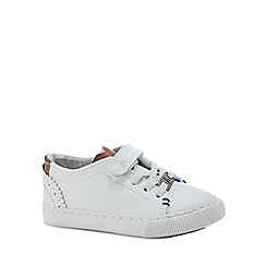 Baker by Ted Baker - Kids' white rip tape trainers