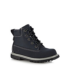 Skechers - Kids' navy 'Mecca Outer Venture' ankle boots