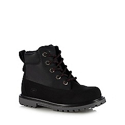 Skechers - Kids' black 'Mecca Outer Venture' ankle boots