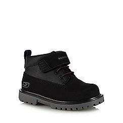Skechers - Kids' black 'Mecca Bolders' boots